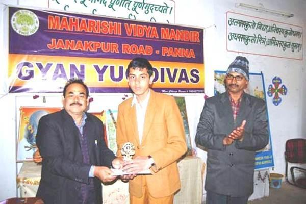 Student Achieved Medal At MVM Panna